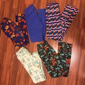 LulaRoe woman's leggings one size